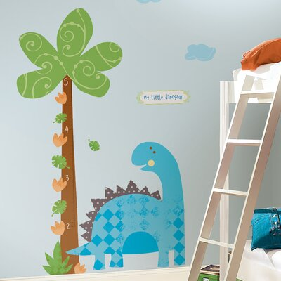 Room Mates 2 Piece Babysaurus Growth Chart Set