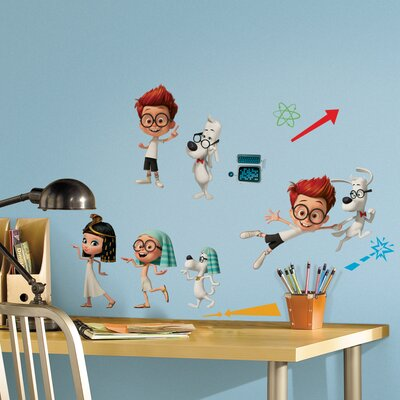 Room Mates Mr. Peabody and Sherman Wall Decal