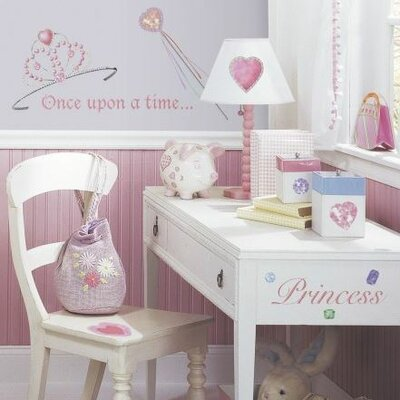 Room Mates Studio Designs 36 Piece Princess Wall Decal Set