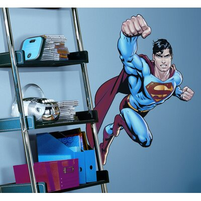 Room Mates Superman Day Of Doom Giant Peel and Stick Wall Decal