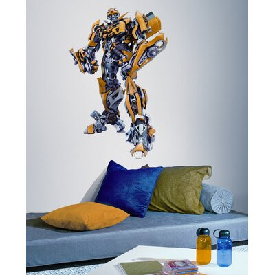 Room Mates Transformers BumbleBee Giant Peel and Stick Wall Decal