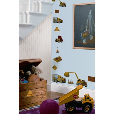 Room Mates Studio Designs 23 Piece Under Construction Wall Decal Set