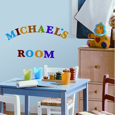 Room Mates 73-Piece Express Yourself Peel and Stick Wall Sticker