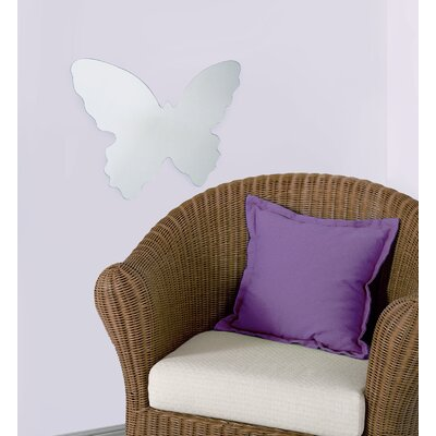 Room Mates Butterfly Large Peel and Stick Mirror