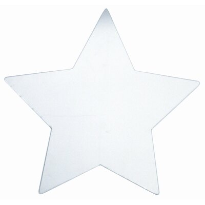 Star Large Peel and Stick Mirror