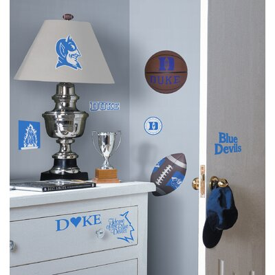 Room Mates Duke Devils Peel and Stick Wall Decal in Blue