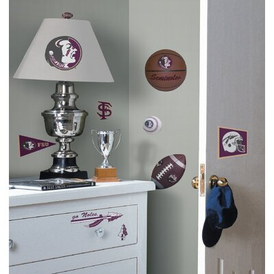 Room Mates Florida State Seminoles Peel and Stick Wall Decal