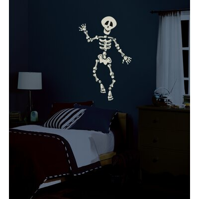 Room Mates Build Your Own Skeleton Peel and Stick Wall Sticker