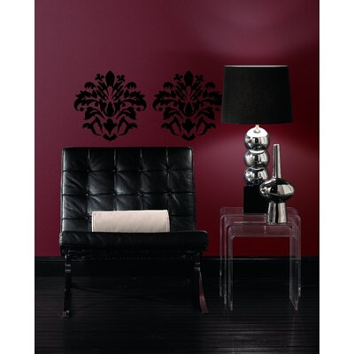 Room Mates Room Mates Deco Damask Wall Decal in Black