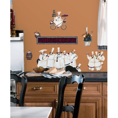 Room Mates Room Mates 15 Piece Deco Chefs Wall Decal Set