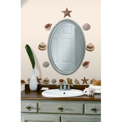 Room Mates Sea Shells Peel and Stick Wall Decal