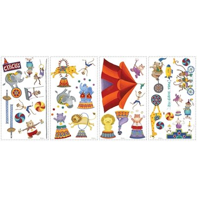 Big Top Circus Peel and Stick Wall Sticker