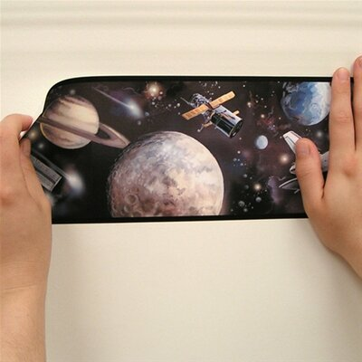 Room Mates Studio Designs Space Travel Wallpaper Border