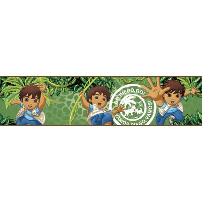 Room Mates Nickelodeon Go Diego Go! Wallpaper Border