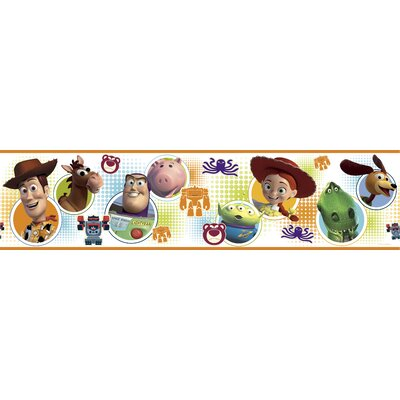 Room Mates Licensed Designs Toy Story 3 Wall Border