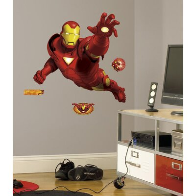 Room Mates Licensed Designs Iron Man Giant Wall Decal