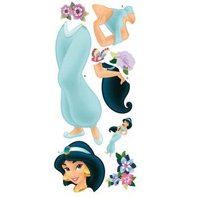 Room Mates Licensed Designs Jasmine Giant Peel and Stick Wall Decal