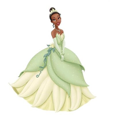Room Mates Licensed Designs Tiana Giant Wall Decal