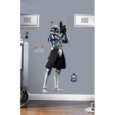 Room Mates Licensed Designs Star Wars Clone Trooper Giant Peel and Stick Wall Decal