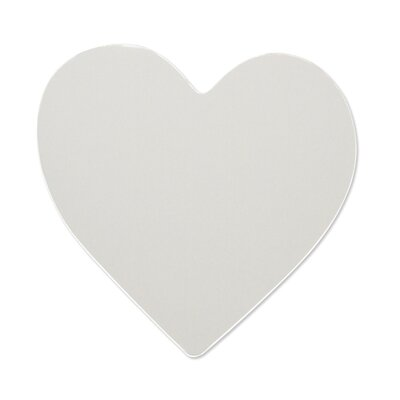 Room Mates Wall Mirrors Heart Peel and Stick Large Decal