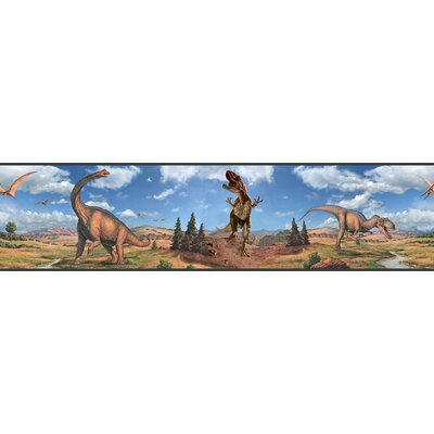 Room Mates Studio Designs Dinosaurs Wall Border