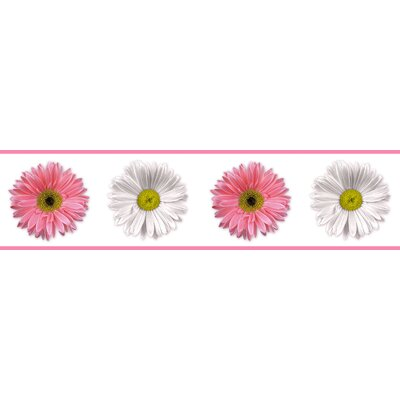 Room Mates Studio Designs Flower Power Wall Border
