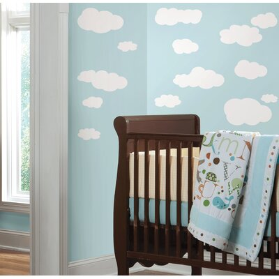 Room Mates Room Mates Deco 19-Piece Clouds Wall Decal