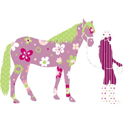 Room Mates Room Mates Deco Horse Crazy Giant Wall Decal