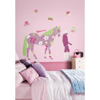 Room Mates Room Mates Deco Horse Crazy Giant Wall Decal