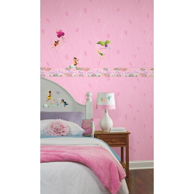 Room Mates Fairy Stripe Wallpaper