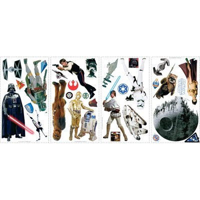 Room Mates Star Wars Classic Peel and Stick Wall Decal