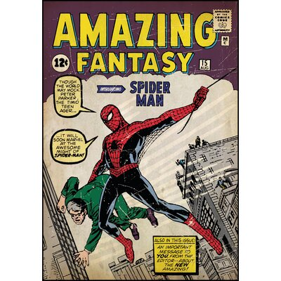 Room Mates Spiderman No.1 Comic Book Cover Wall Decal