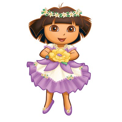 Room Mates Nickelodeon Dora The Explorer Enchanted Forest Adventures Giant Wall Decal