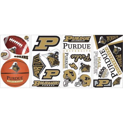 25 Piece Purdue Wall Decal