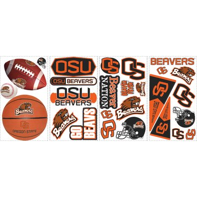 27 Piece Oregon State Wall Decal