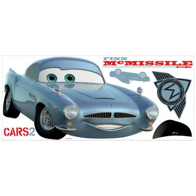 Room Mates Cars 2 Finn McMissle Peel and Stick Giant Wall Decal