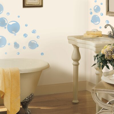 Room Mates Bubbles Peel and Stick Wall Decals