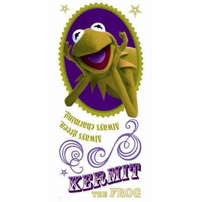 Room Mates Muppets - Kermit Peel and Stick Giant Wall Decal