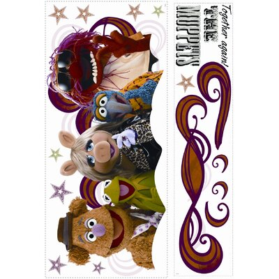 Room Mates Muppets - Collage Peel and Stick Giant Wall Decal