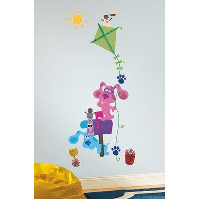 Room Mates Blues Clues Peel and Stick Growth Chart Wall Decals