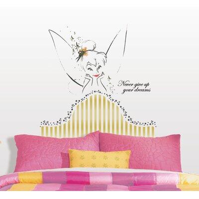 Room Mates Disney Fairies Tinkerbell Headboard Giant Wall Decal