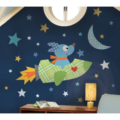 Room Mates Rocketdog Peel and Stick Giant Wall Decals
