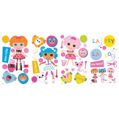 Room Mates Lalaloopsy Peel and Stick Wall Decals