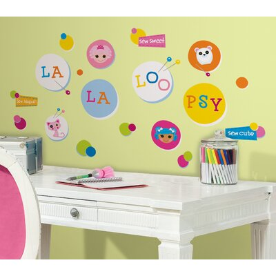 Room Mates Lalaloopsy Polka Dots Wall Decal