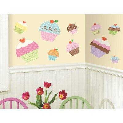 Room Mates Happi Cupcake Giant Wall Decal