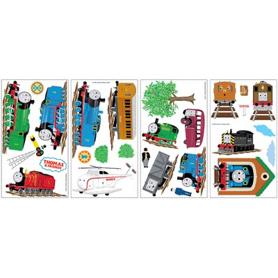 Room Mates Favorite Characters 27 Piece Thomas and Friends Wall Decal Set