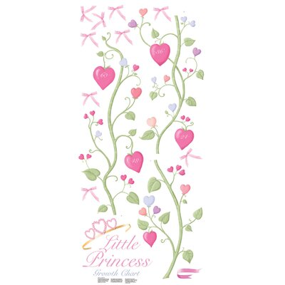 Room Mates Fairy Princess Peel and Stick Growth Chart