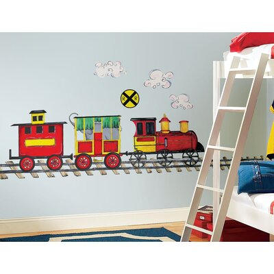Room Mates All Aboard MegaPack Peel and Stick Wall Decal