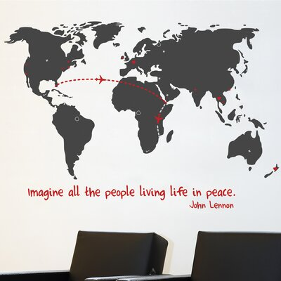 Room Mates Mia & Co World Wall Decal