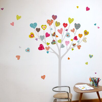 Room Mates Mia & Co Heart Tree Wall Decal